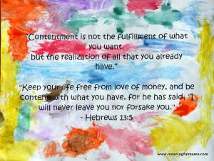 Bible Verses75 × 56 - 3k - jpgapuritanatheart.comfor contentment ...