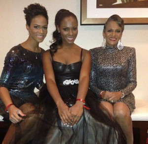 Tika Sumpter with her mom & sister: Tika Sumpter, Mom Sisters, Tinka ...