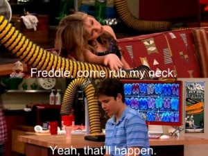 Freddie iCarly Quotes