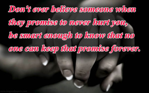 Don't believe Quotes Wallpaper