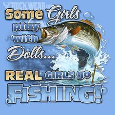Real girls go fishing♥ More