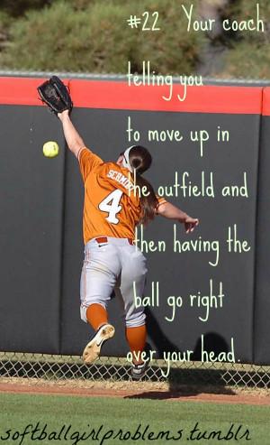 softball girl problems #22