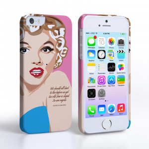 Home / Celebrity Quote Cases / Caseflex iPhone 5/5s Marilyn Monroe ...