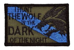 ... -The-Wolf-Sheepdog-2-x3-Hat-Patch-Police-Military-Morale-Funny-Velcro