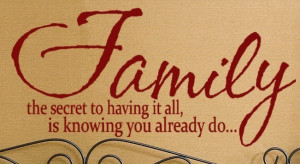 Sayings About Family Drama Family wall sayings the secret