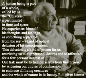 Einstein on Compassion