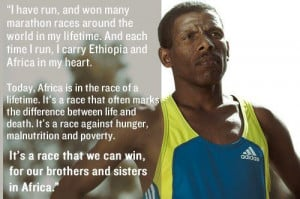 Celebrate Haile Gebrselassie, 2-time Olympic gold medal winner, today ...