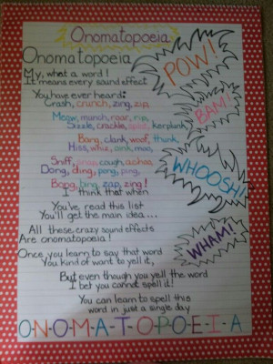 Onomatopoeia Poems Shel...