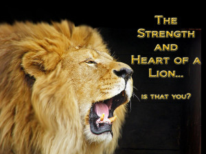 Lion strength by Hisashi1988