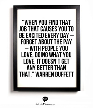 Inspiration from Warren Buffett on careers, leadership, and mentorship