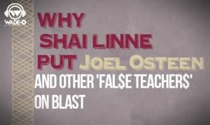Why Shai Linne Put Joel Osteen and other 'Fal$e Teacher$' on Blast