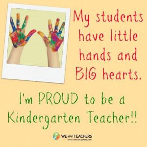 Kindergarten Pride! #weareteachers