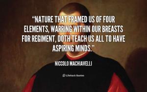 Four Elements Quotes