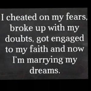 Fears Doubt's, Faith, & Dreams