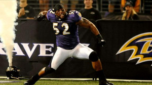 Ray Lewis: A Football Life is on NFL Network right now!