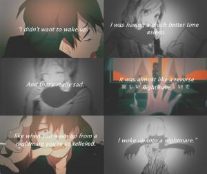 sad anime quotes tumblr