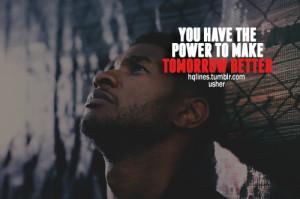 Usher Sayings Quotes