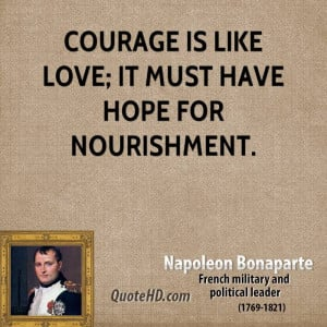 Napoleon Bonaparte Love Quotes