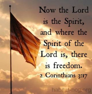freedom #habitat #quote #bible #inspiration #Spirit