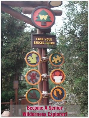 Become a Senior Wilderness Explorer at Disney's California Adventure ...