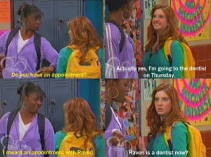 funny, lol, thats so raven