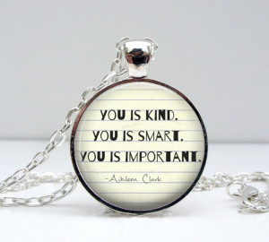 ... -You-is-Important-Quote-Necklace-The-Help-Movie-Silver-Jewelry.jpg