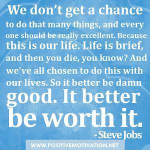 Steve Jobs Quotes Life...