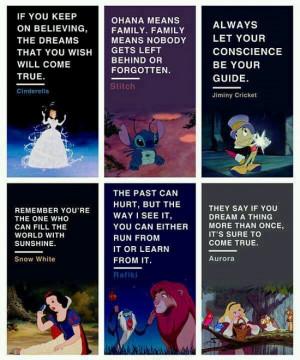 Inspirational Disney Quotes
