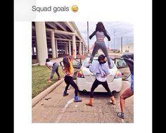 Squad goals. More
