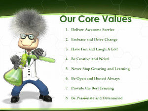 ... We Believe Mission Statement Vision Statement Core Values Our Team
