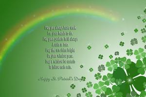 Irish Blessing Sayings Patricks Day Quotes
