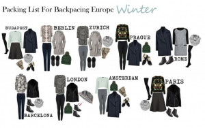 winter travel outfits