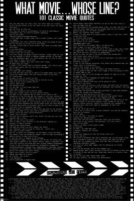 movie quotes poster famous 100 most famous movie quotes poster