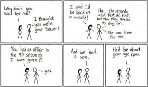 Web comics flavoured with sarcasm