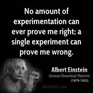 Albert Einstein Science Quotes