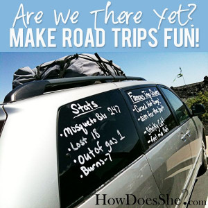 Fun Road Trip Activities from HowDoesShe.com #activities #roadtrip # ...