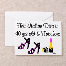 Italian Happy Birthday Greeting Cards