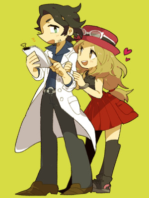 Calem And Serena Shipping Pokemon Comic Romantic