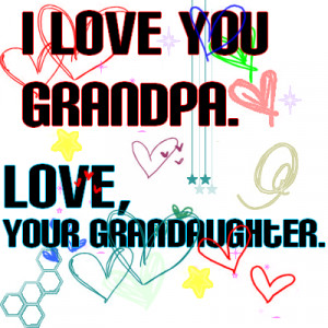 Love You Grandpa Quotes