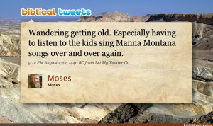 Moses Old Testament Quotes