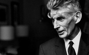 An extract from Samuel Beckett's The Unnamable