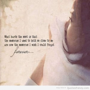 quotes on sad memories quotes about love memories sad memories quotes ...