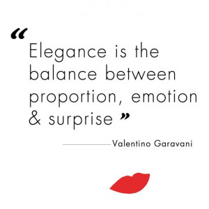 VALENTINO: EXQUISITELY ELEGANT