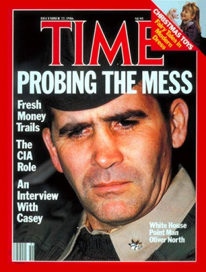 Oliver North in time magazine