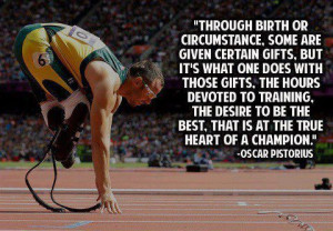 Pistorius Heart of a Champion by Oscar Pistorius inspirational people ...