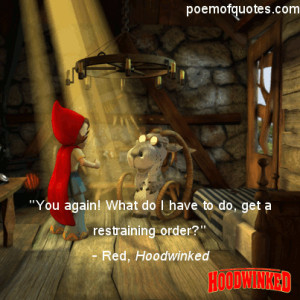funny hood quotes source http quoteimg com hoodwinked red