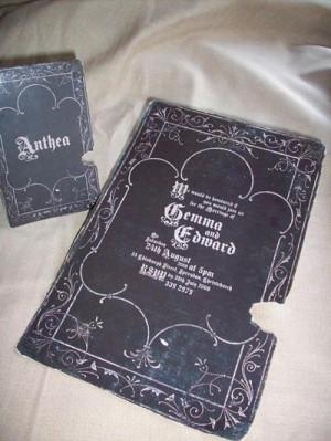Victorian/Gothic/Halloween Wedding Ideas