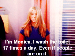 Spring Cleaning Tips from Monica Geller