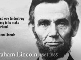 President Lincoln Quotes On Slavery