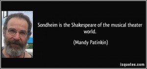 More Mandy Patinkin Quotes